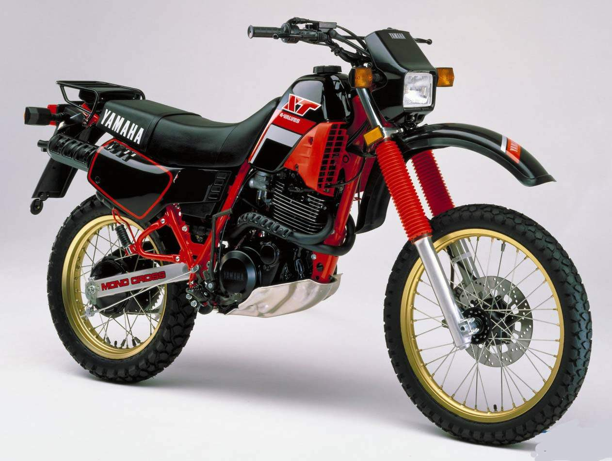 Yamaha Xt 550 Pics Specs And List Of Seriess By Year Onlymotorbikes Com