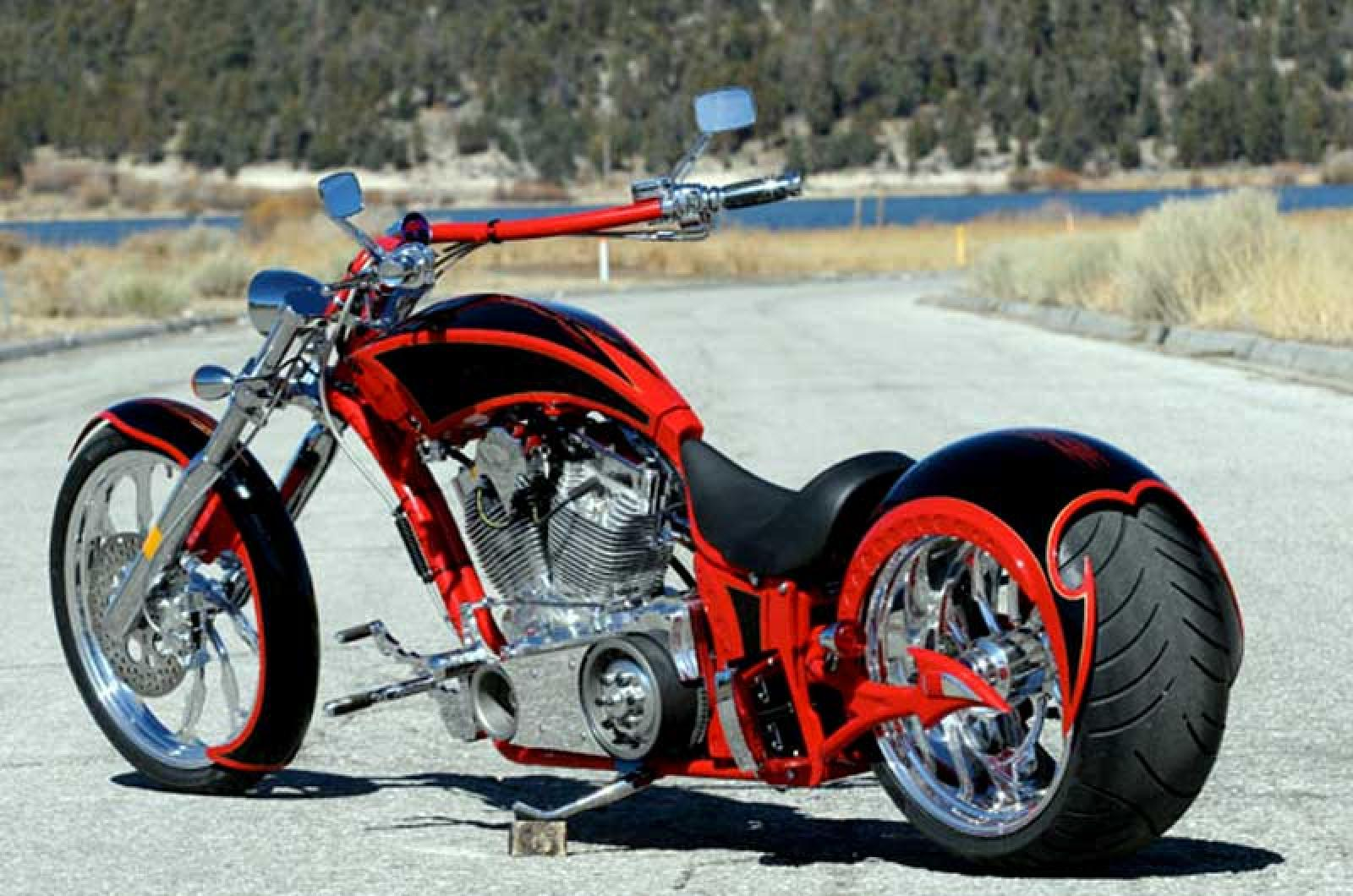 Big Bear Choppers Sled ProStreet 100 EFI 2009 wallpapers #136539