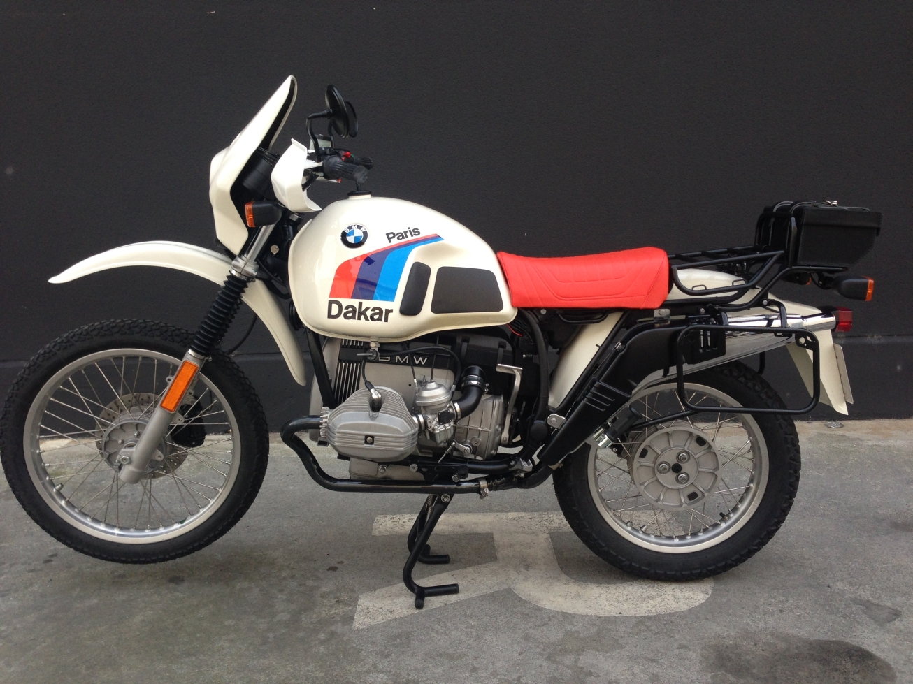 BMW R100GS Paris-Dakar images #77486