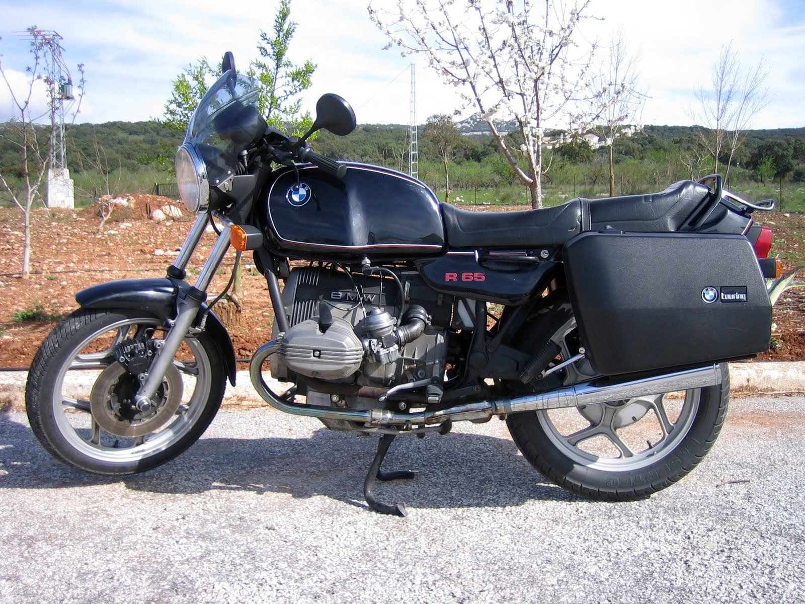 1986 bmw r65 pics specs and information. Black Bedroom Furniture Sets. Home Design Ideas