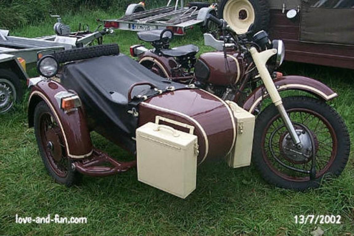 Dnepr MT 10 with sidecar 1982 images #70460