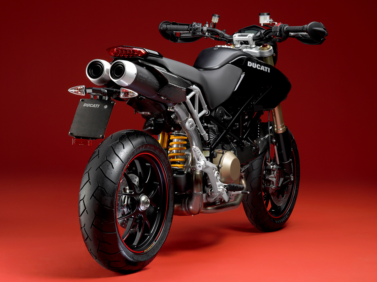 Ducati Hypermotard 1100 2009 wallpapers #148144