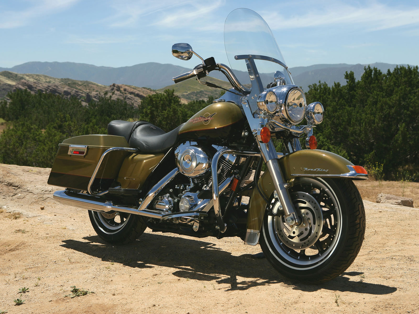 2007 Harley Davidson Flhr Road King Pics Specs And