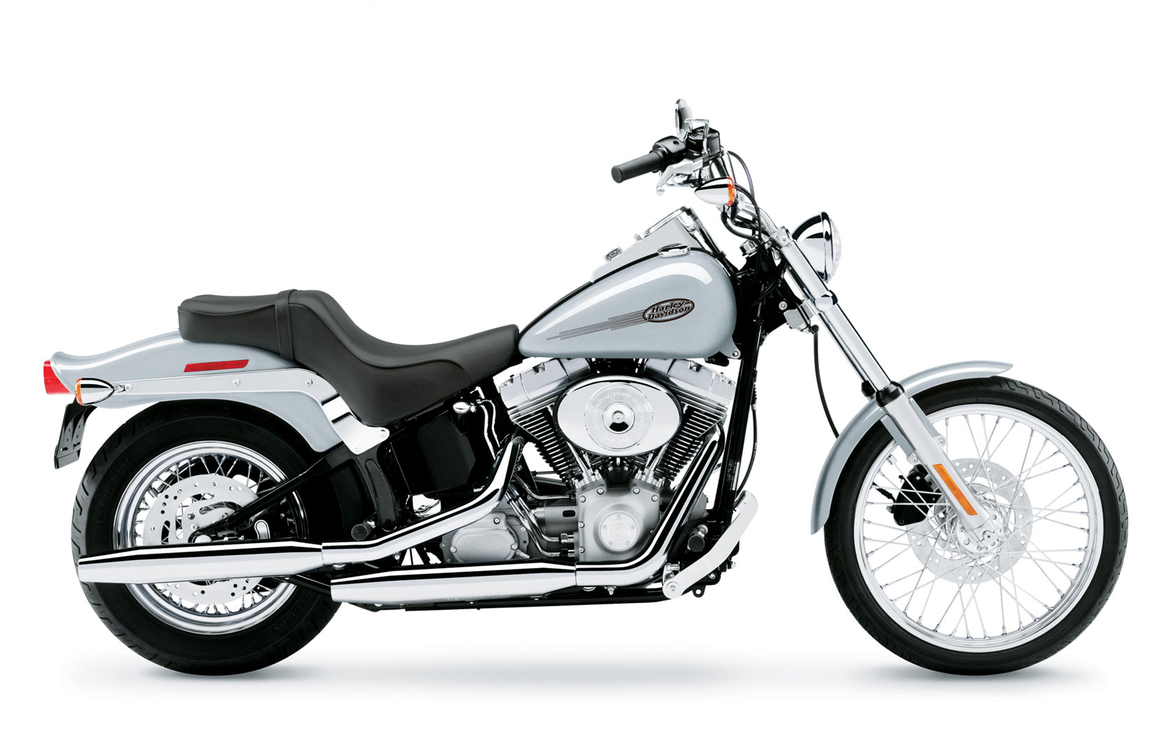 How Much Does A  Harley Davidson Softail Weight
