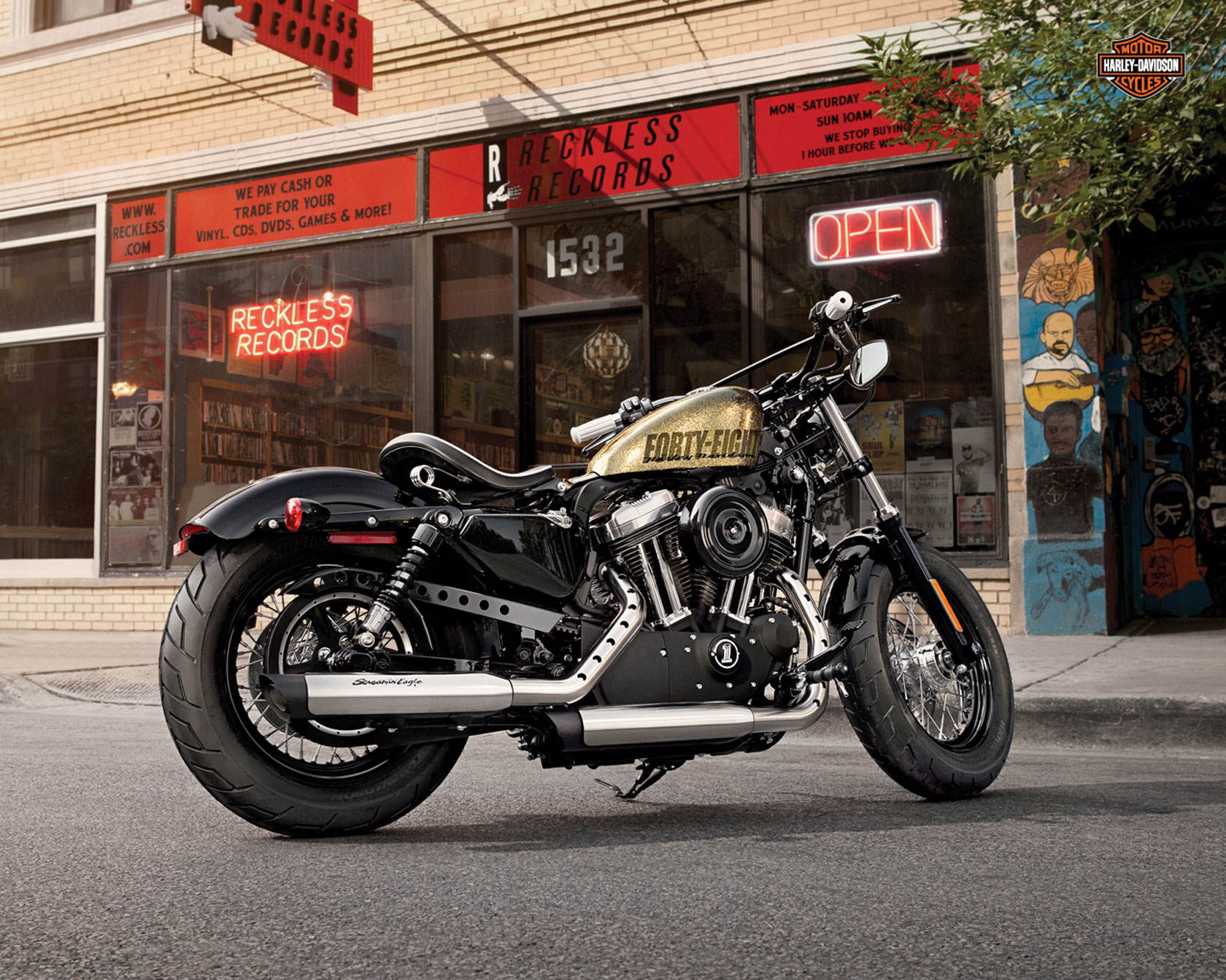 Harley-Davidson XL1200X Forty-Eight pics #20501