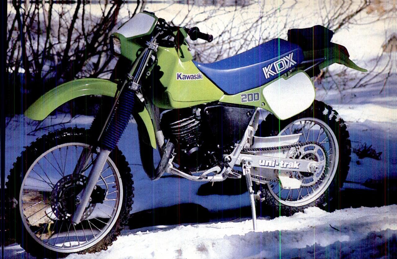 1987 kawasaki kmx 200 pics specs and information. Black Bedroom Furniture Sets. Home Design Ideas