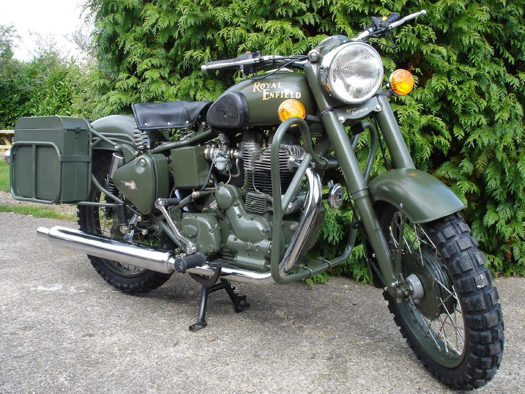 Royal Enfield Bullet 500 Army 1992 images #123385