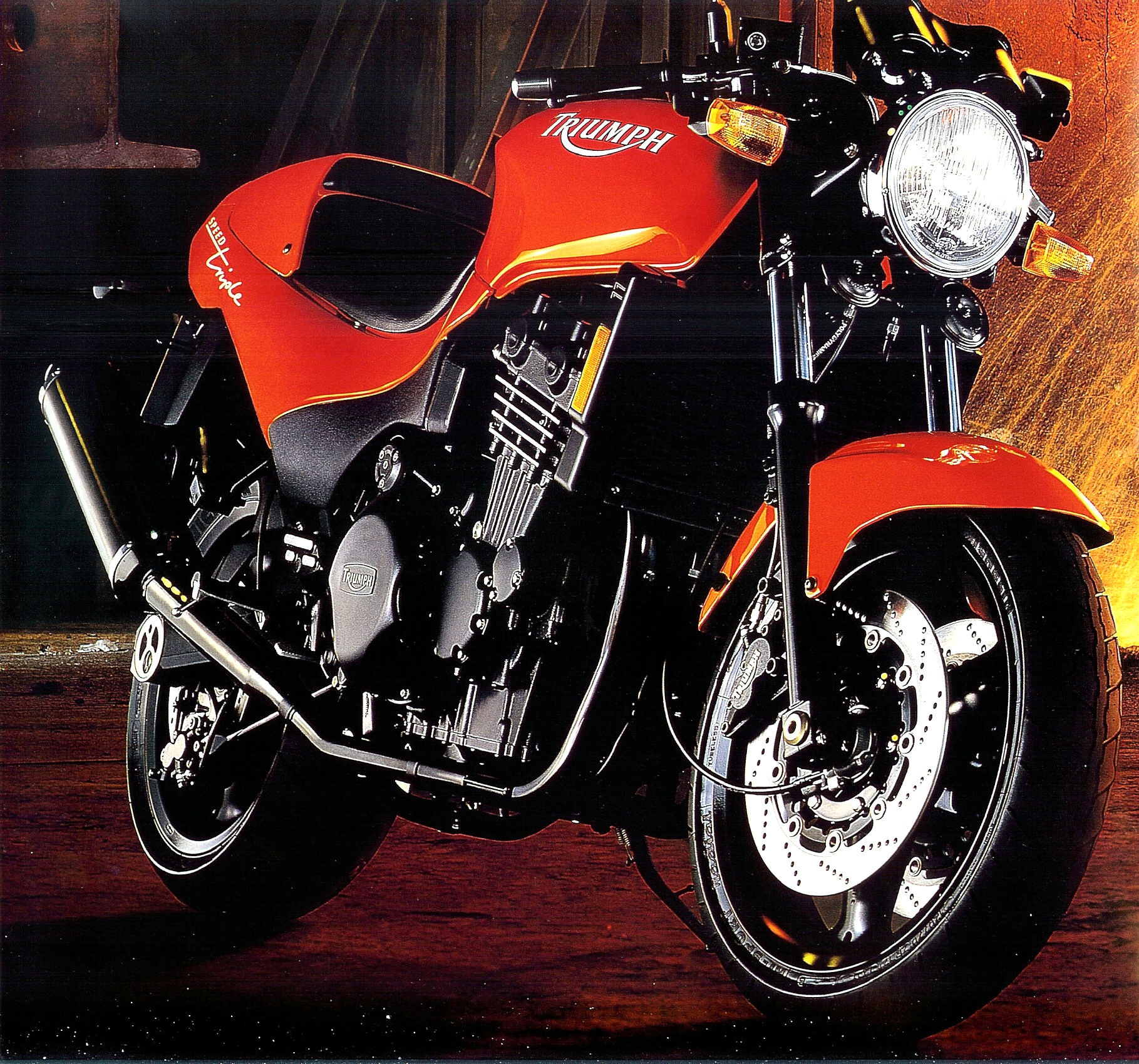 Triumph Speed Triple 900 1995 images #163717