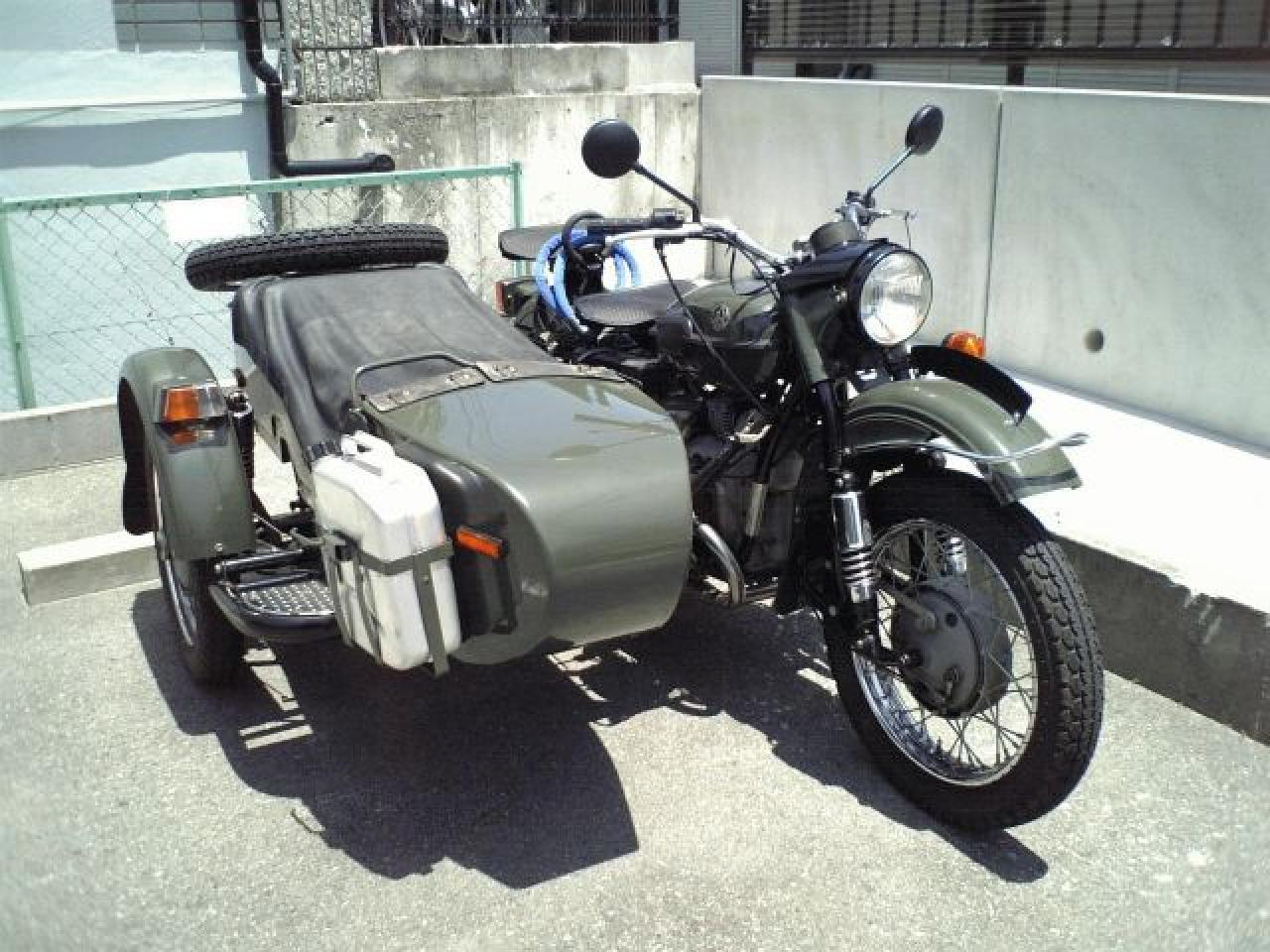 Ural M-63 with sidecar 1978 images #127226