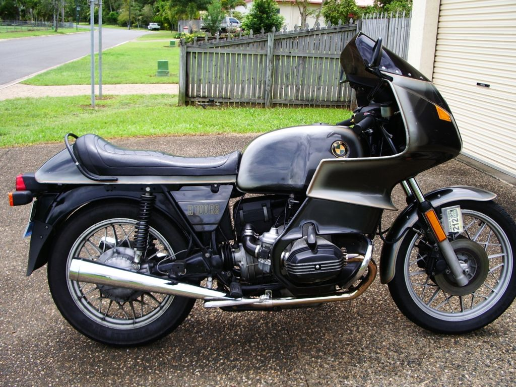 BMW R100RS 1981 images #4620