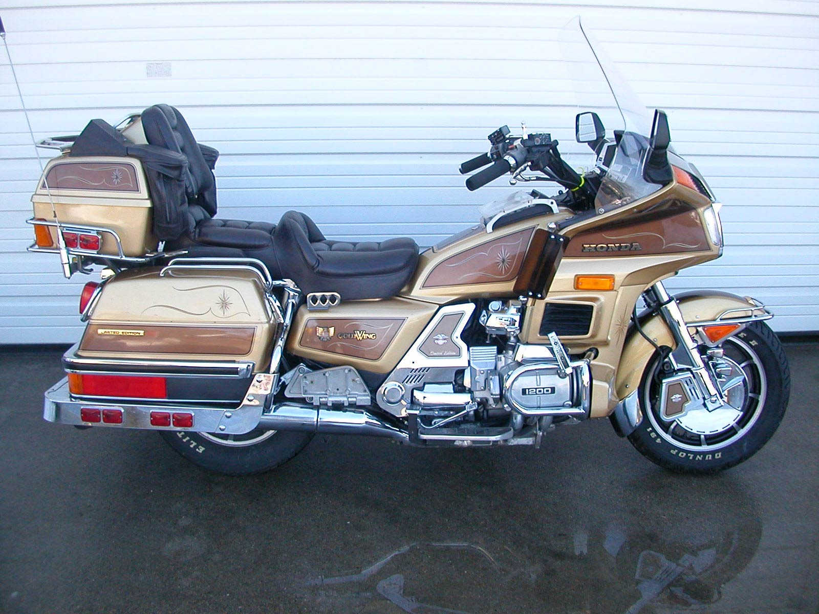 Honda GL 1200 Gold Wing images #80954