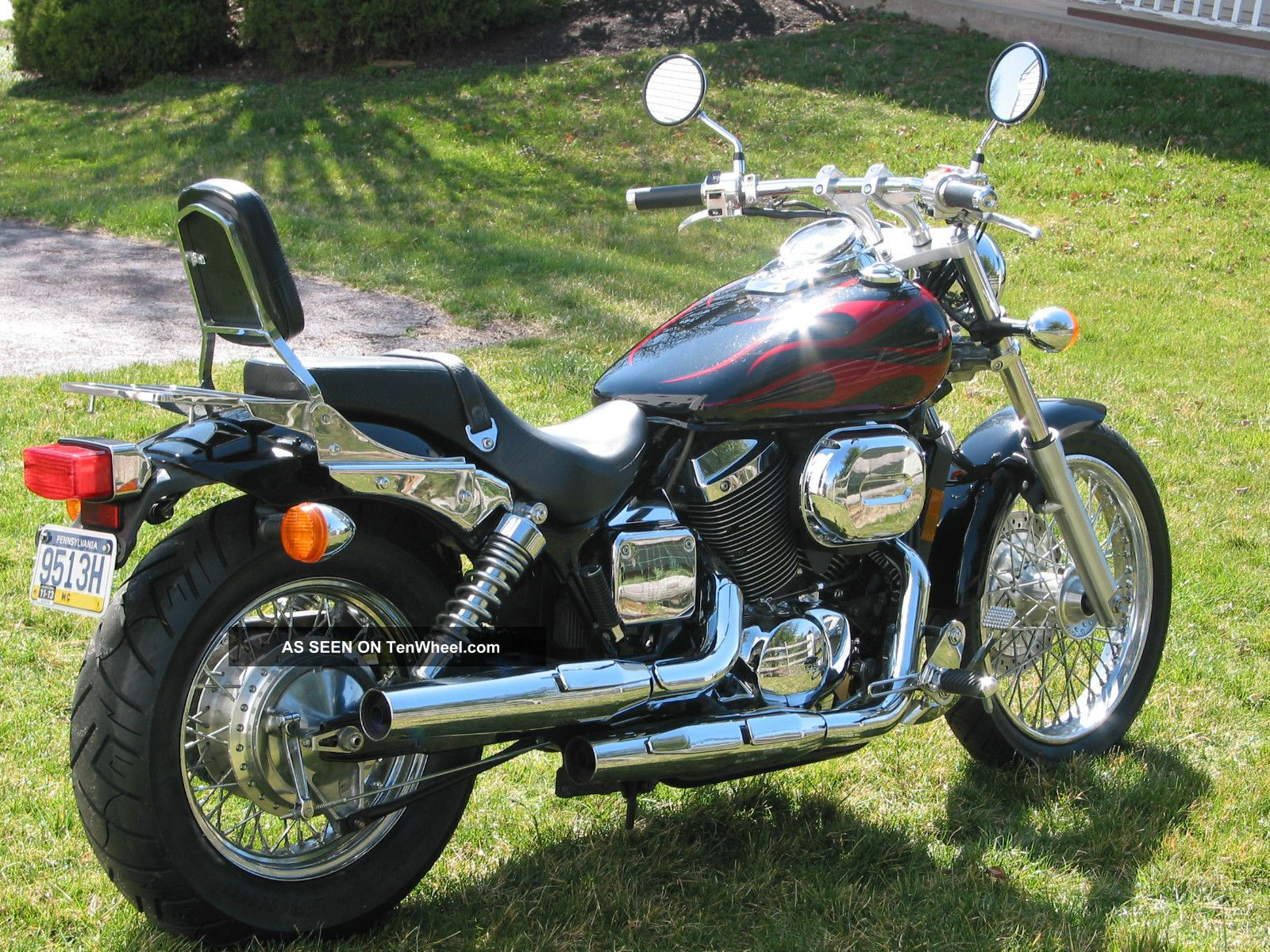 2013 honda shadow spirit 750 pics specs and information. Black Bedroom Furniture Sets. Home Design Ideas