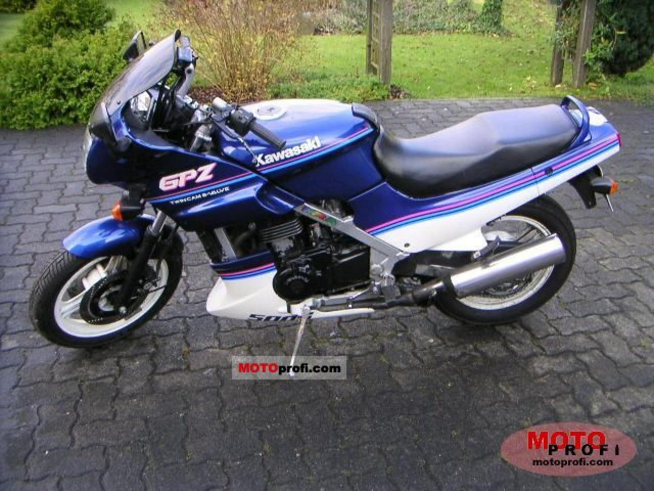 Kawasaki GPZ 500 S (reduced effect) pics #30910