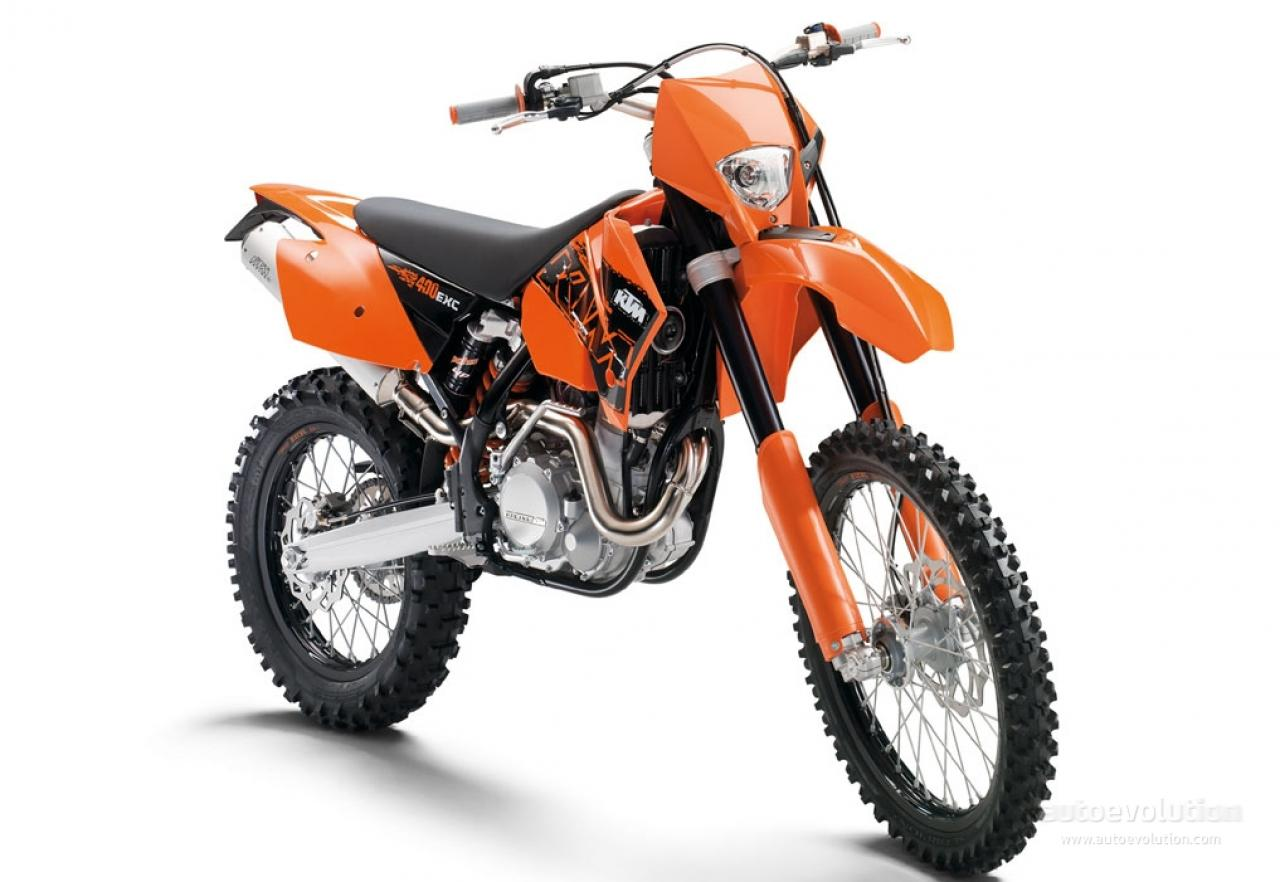 KTM 400 EXC Racing 2005 images #86407