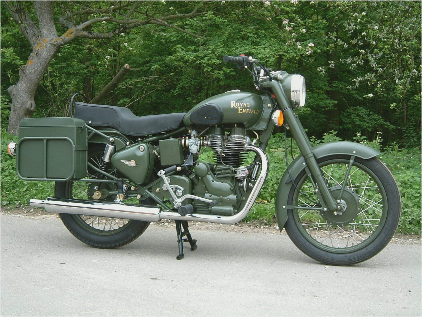 Royal Enfield Bullet 350 Army wallpapers #141606