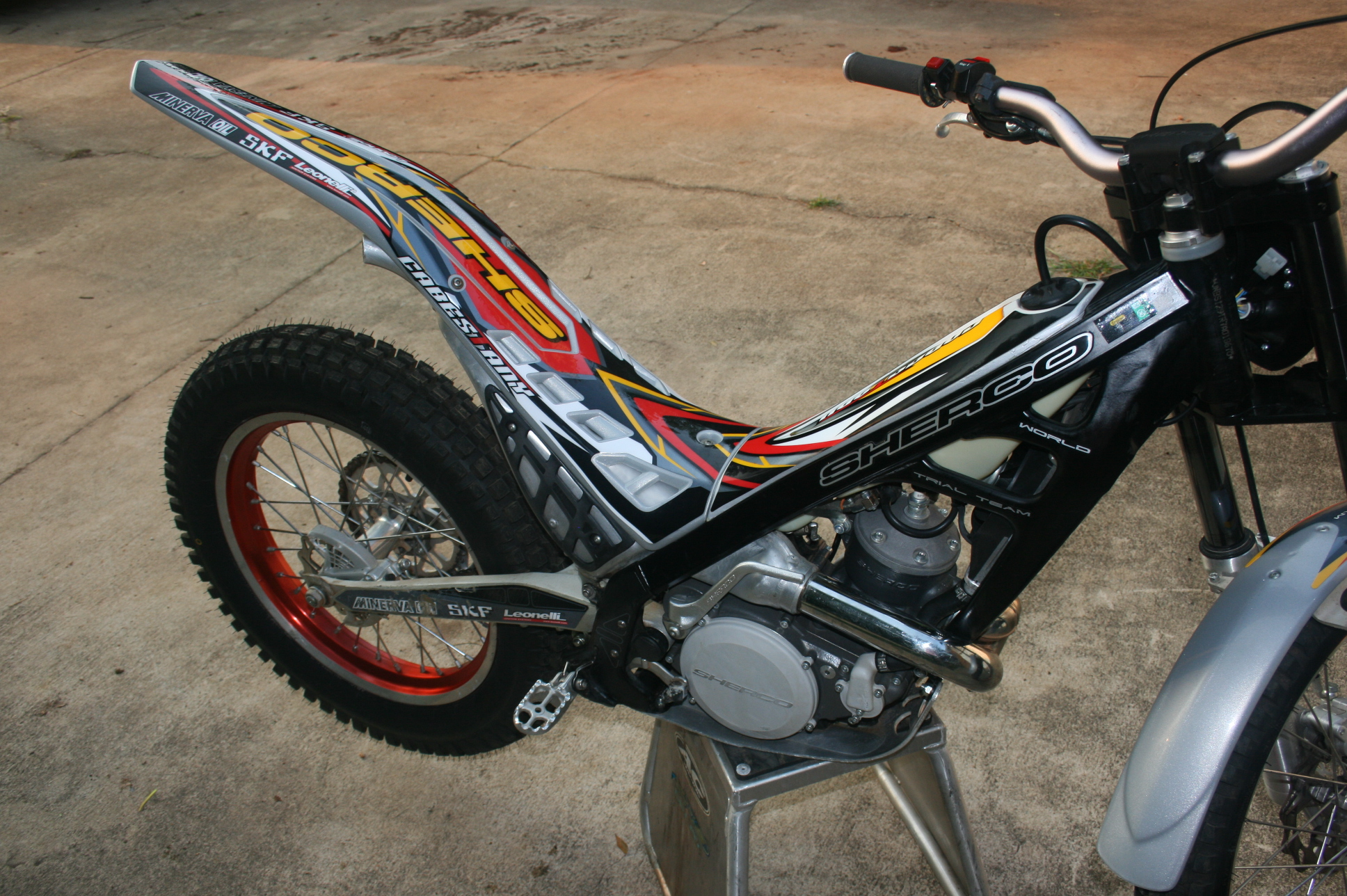 Sherco 2.9 Cabestany Replica 2008 wallpapers #129502