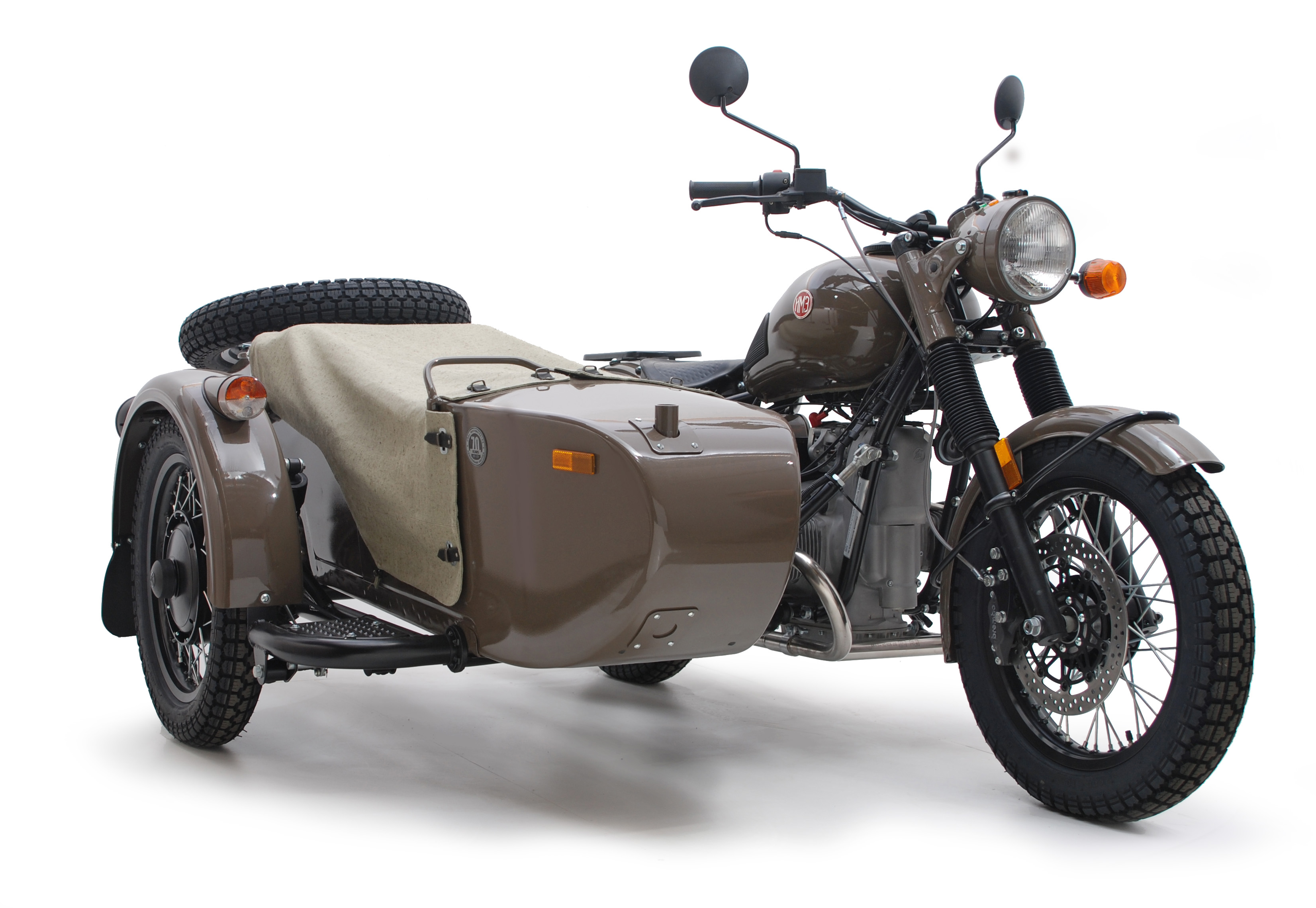 Ural M-63 with sidecar 1974 images #127424
