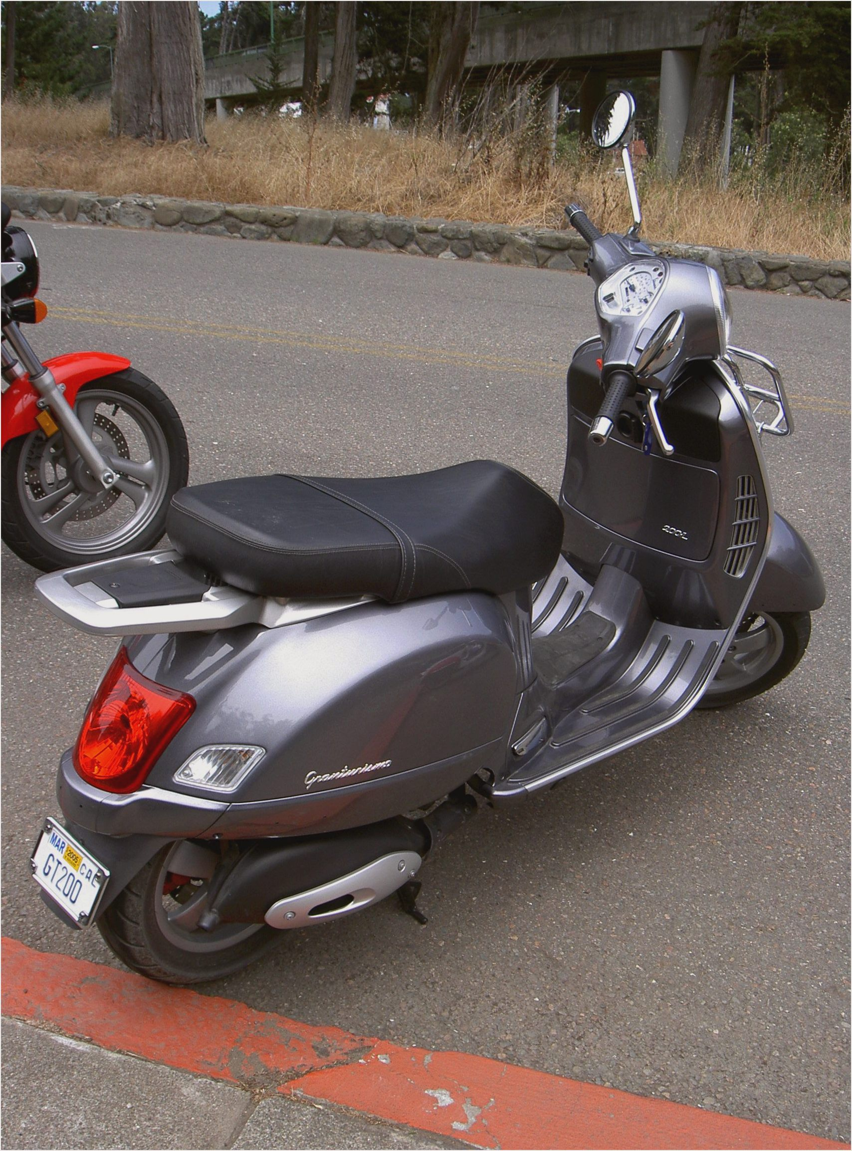 Vespa Granturismo 200 2008 wallpapers #132485