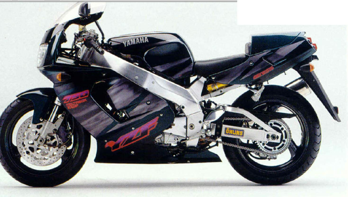 Yamaha Fzr Manual