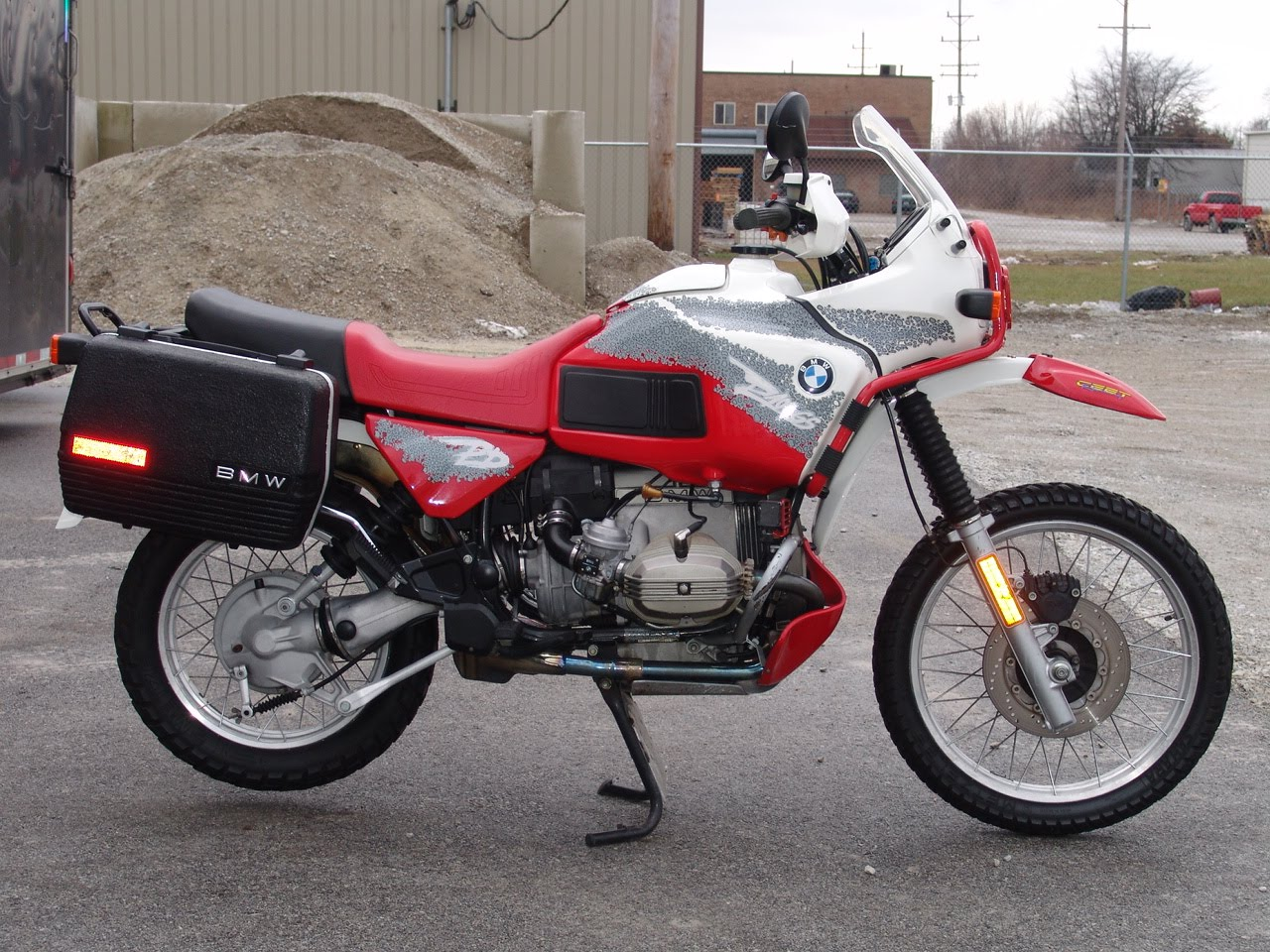 BMW R80GS 1995 images #6409