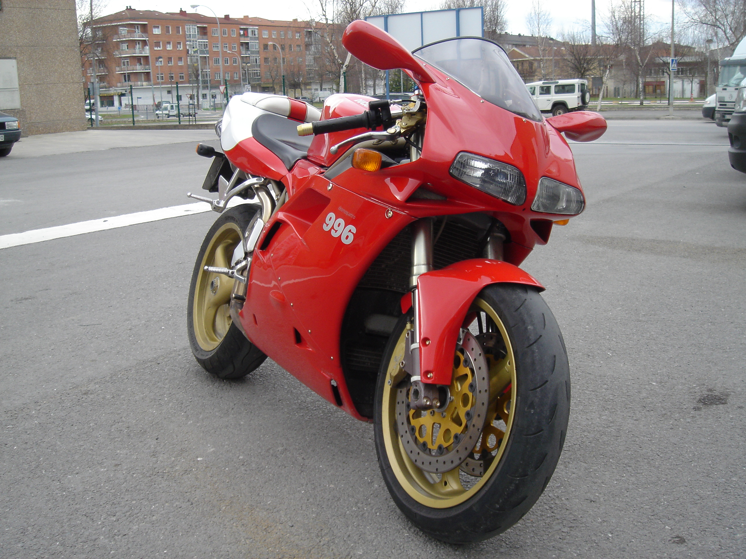 Ducati 996 2001 wallpapers #150631