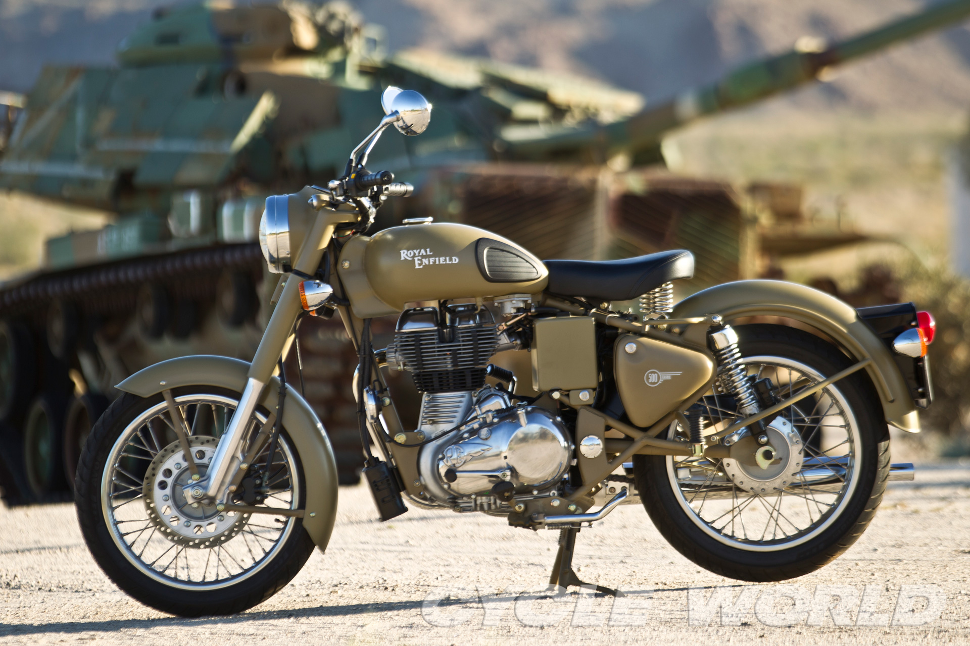 Royal Enfield Bullet 500 Army 1992 images #123386