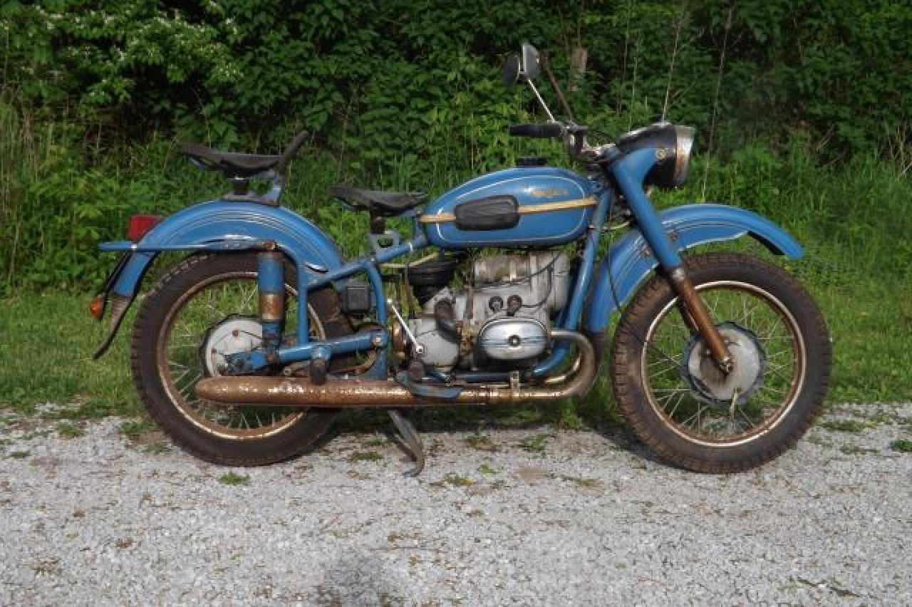 Ural M-63 with sidecar 1978 images #127228