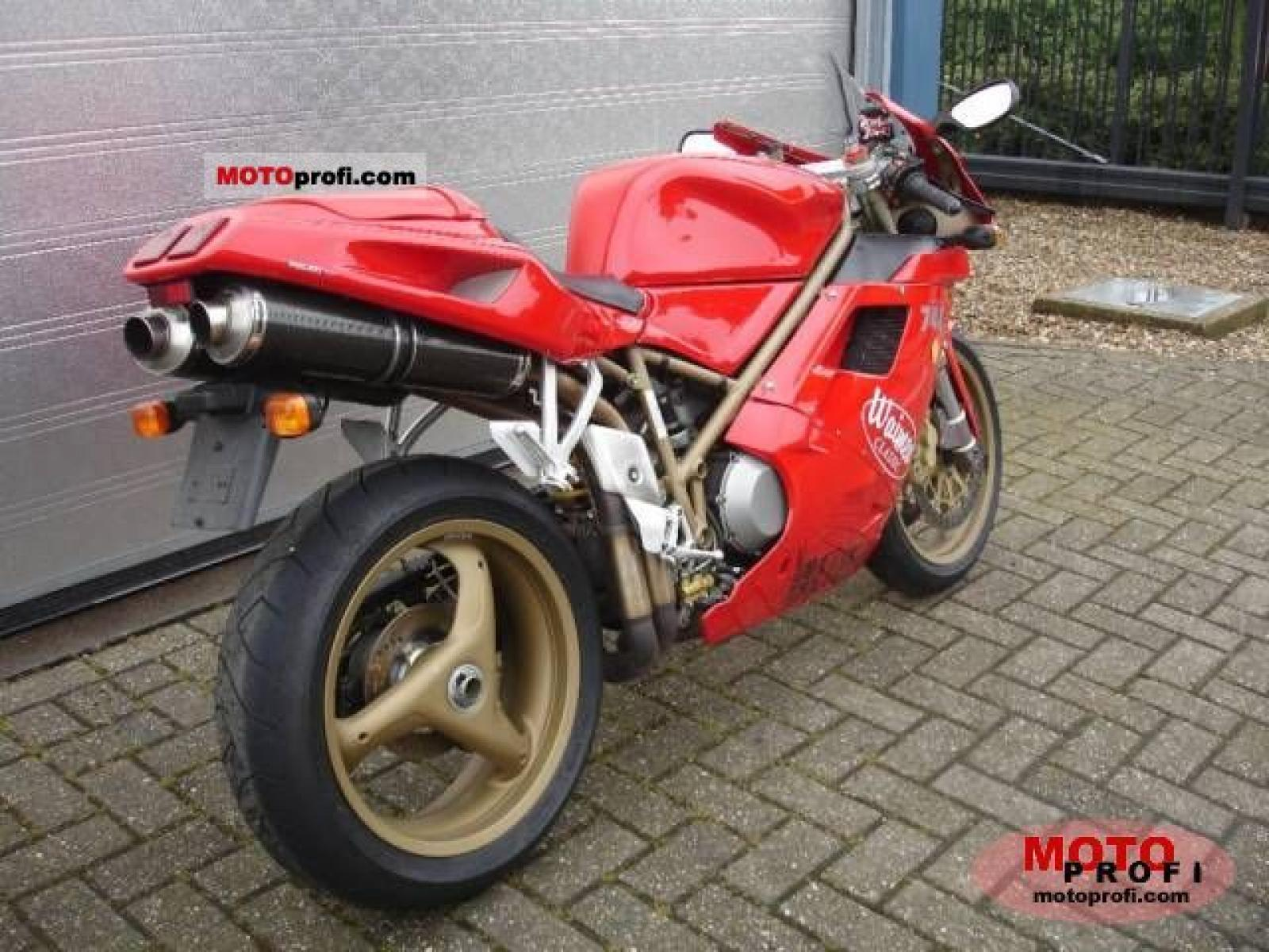 Ducati 748 Biposto 1996 wallpapers #14140