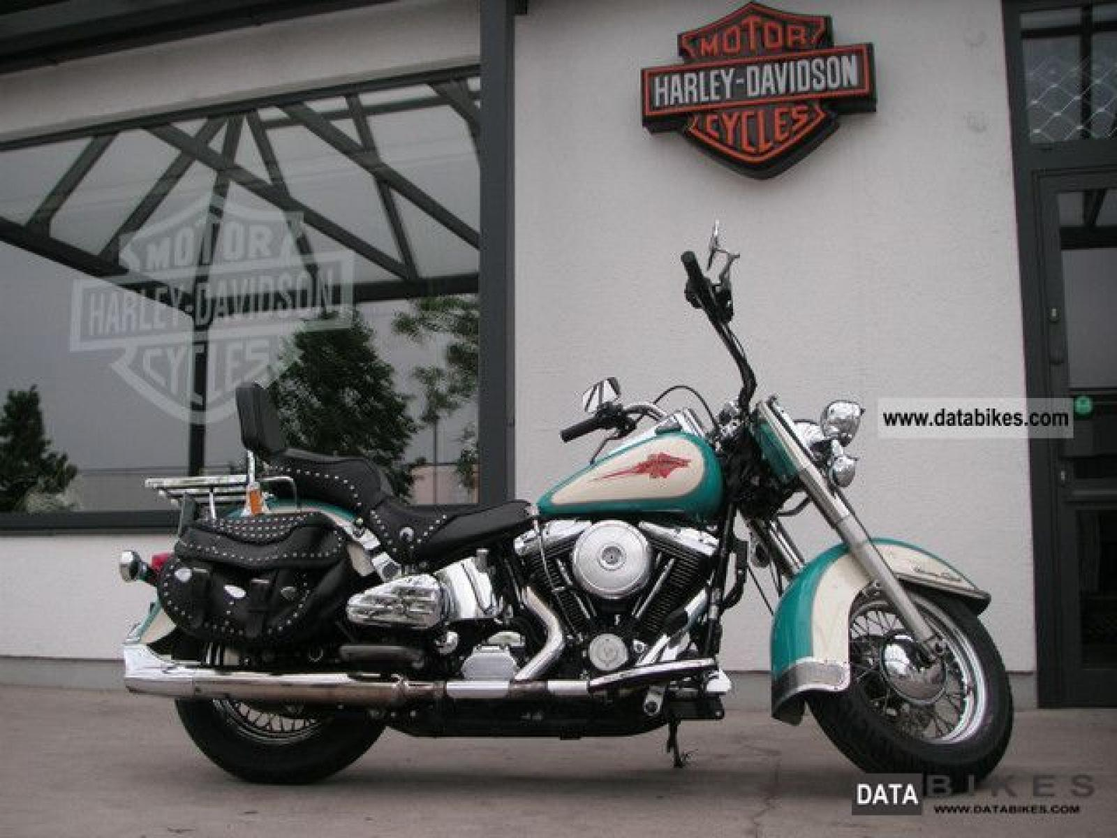 Harley-Davidson FLSTC Heritage Softail Classic 1991 wallpapers #133376