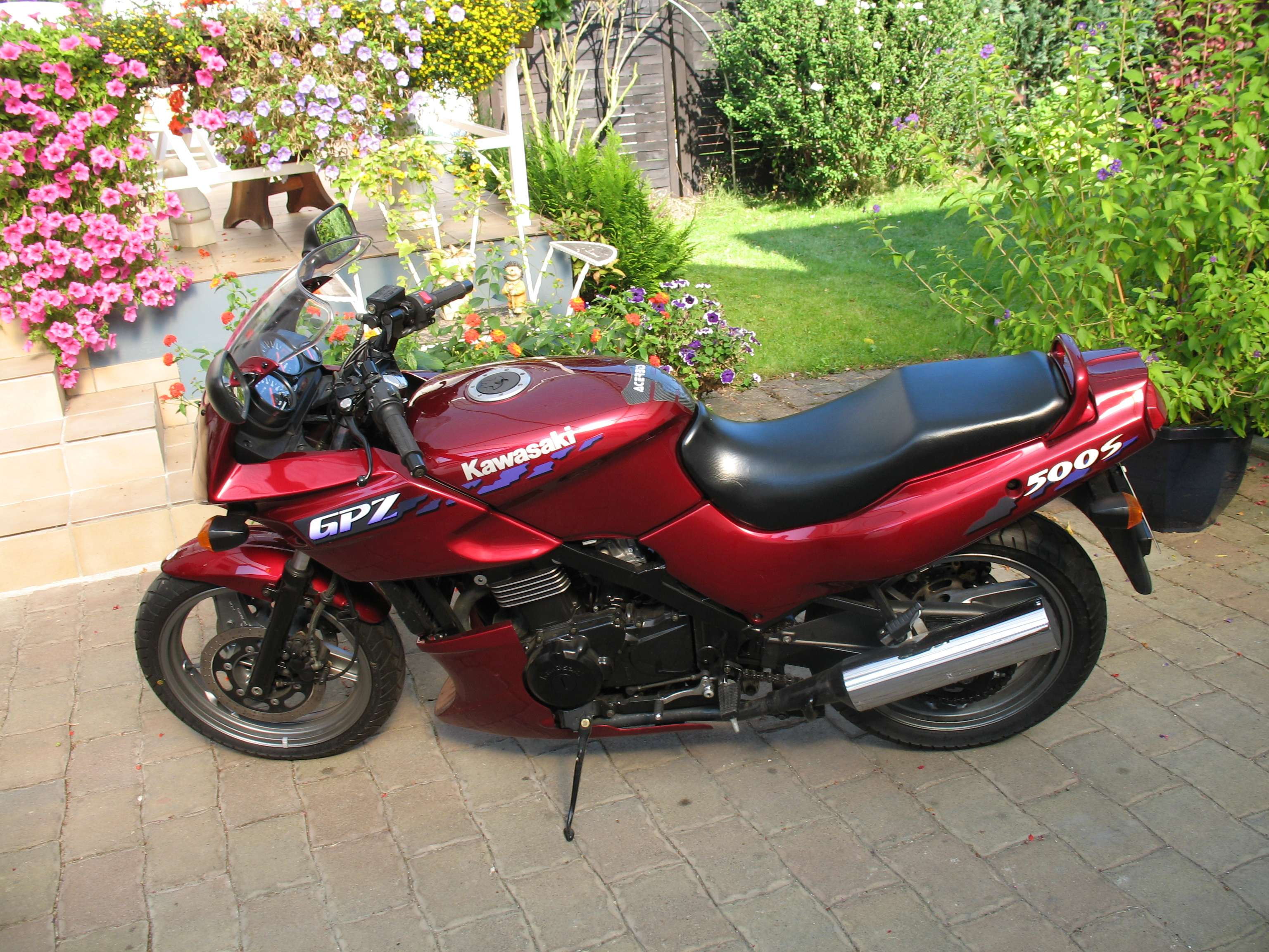 1996 Kawasaki Gpz 305 Belt Drive Pics Specs And Information 1100 Ninja Wiring Diagram 32994