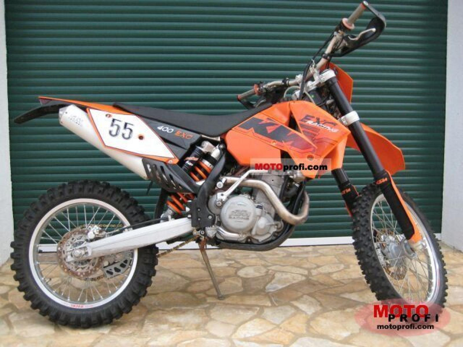 KTM 400 EXC Racing 2005 images #86409