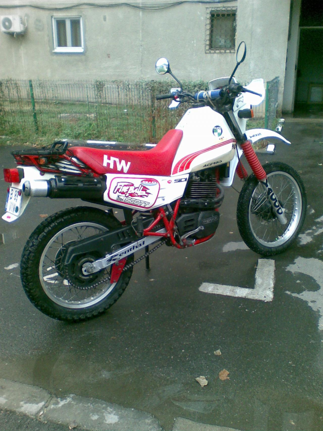 Puch 350 HWE 1988 wallpapers #140614