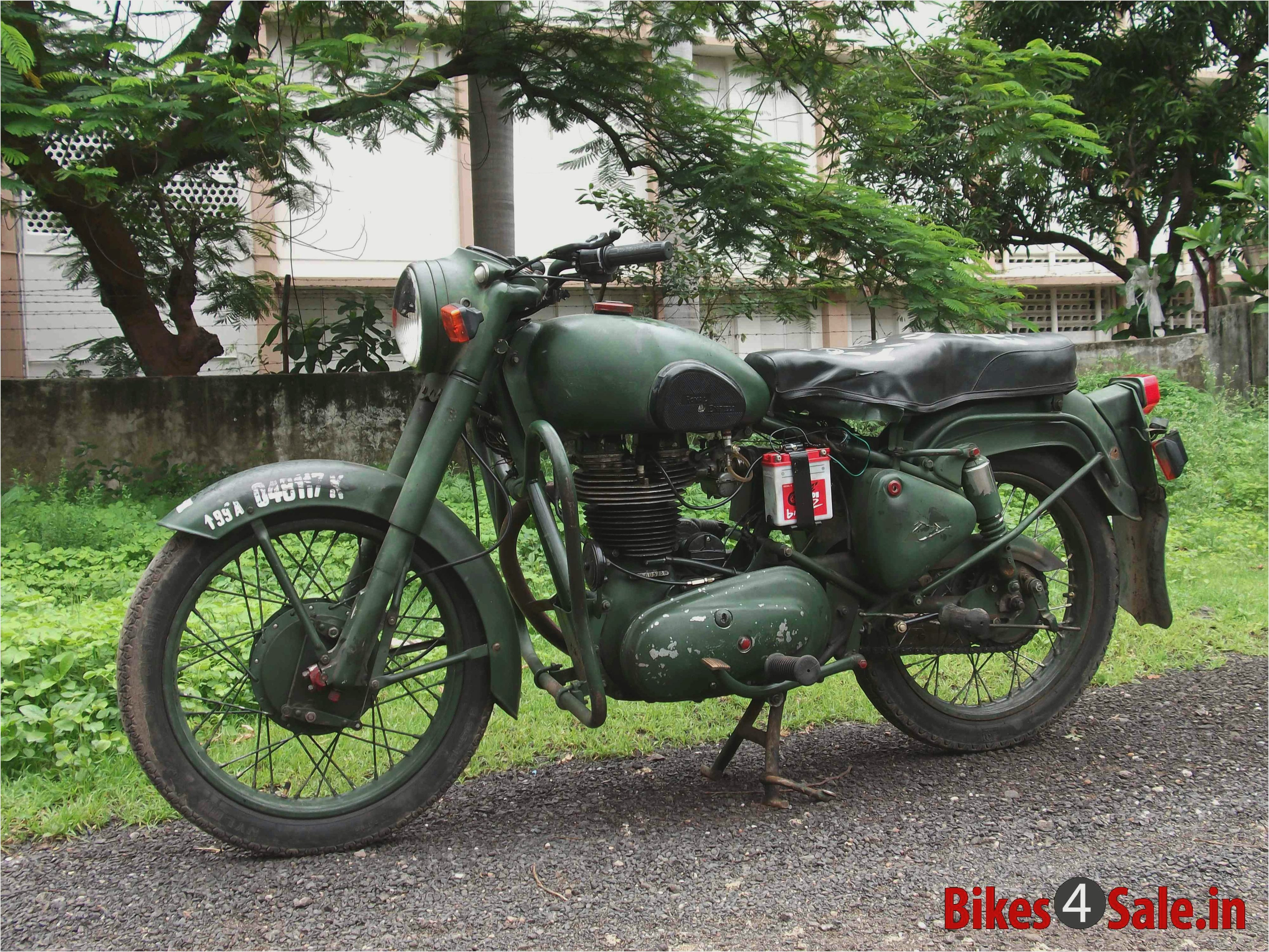 1998 Royal Enfield Bullet 350 Army Pics Specs And Information