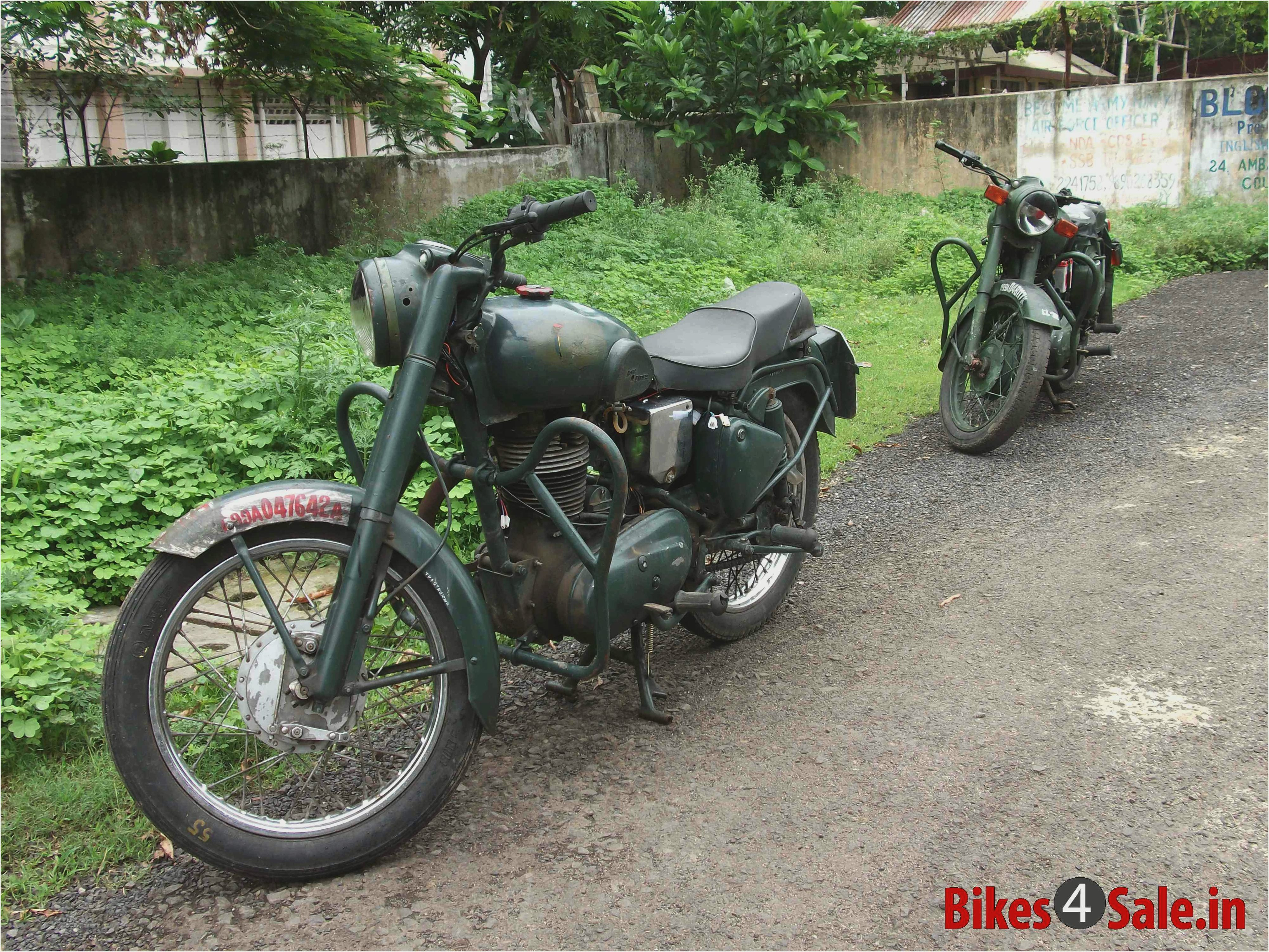 Royal Enfield Bullet 350 Army 2002 images #123585
