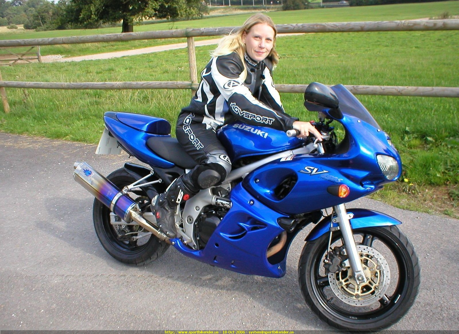 2000 Suzuki SV 650 S specifications and pictures