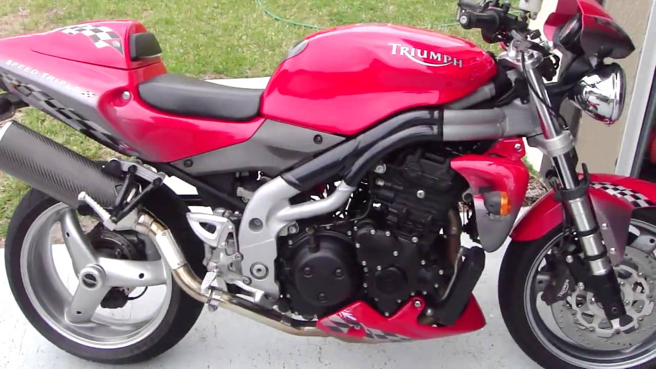 Triumph Speed Triple 955 2003 wallpapers #130004
