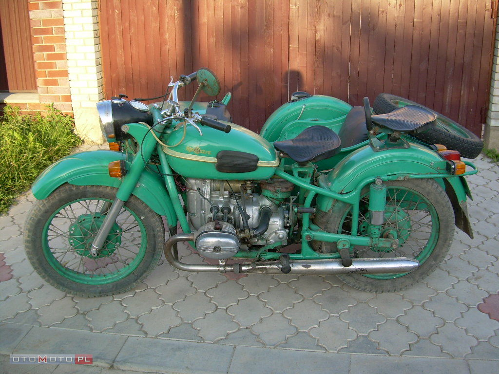 Ural M-63 with sidecar 1974 images #127426