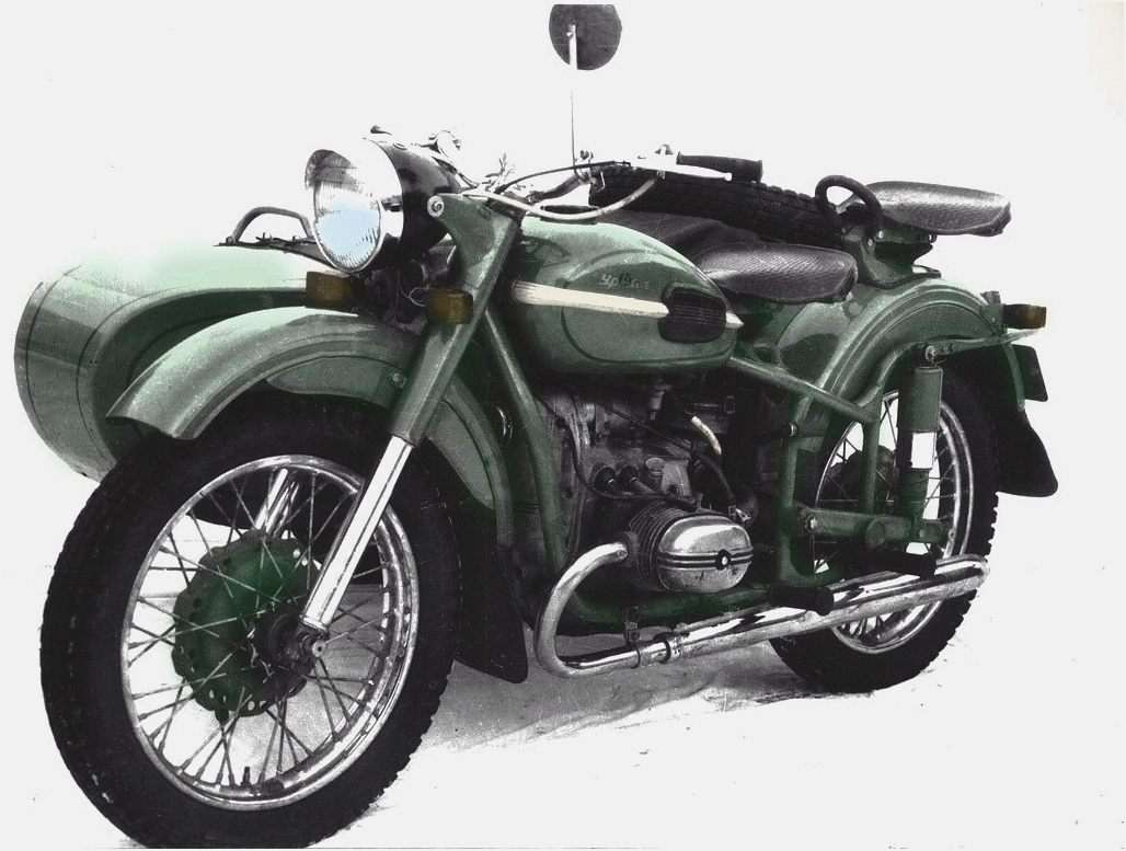 Ural M-63 with sidecar 1978 images #127229