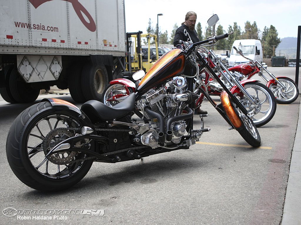 Big Bear Choppers Venom 100 Smooth EFI 2010 images #63829