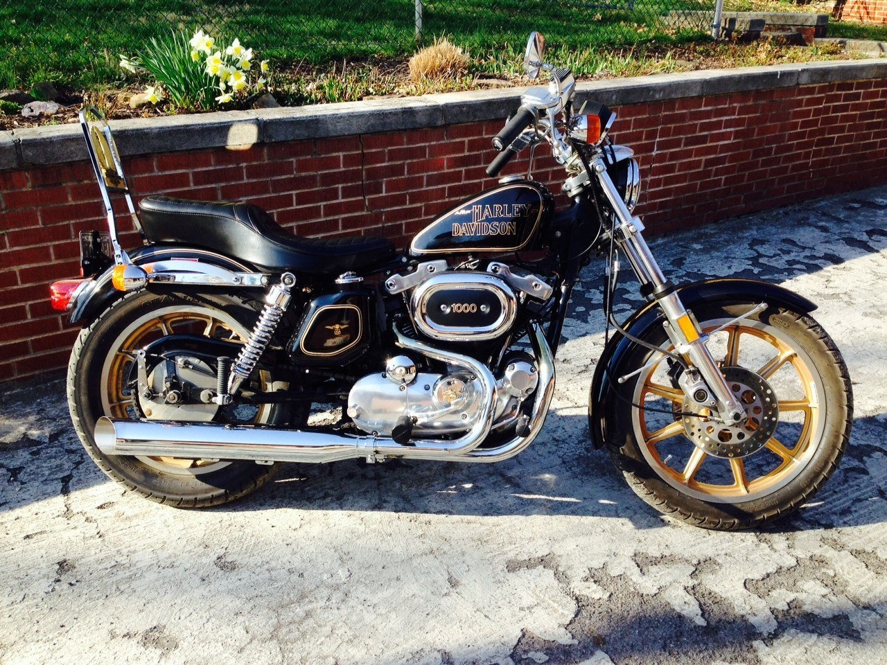 Harley Davidson Xlch1000 Sportster Pics Specs And List Of Seriess 77 Ironhead Xl Wiring Diagram 36871