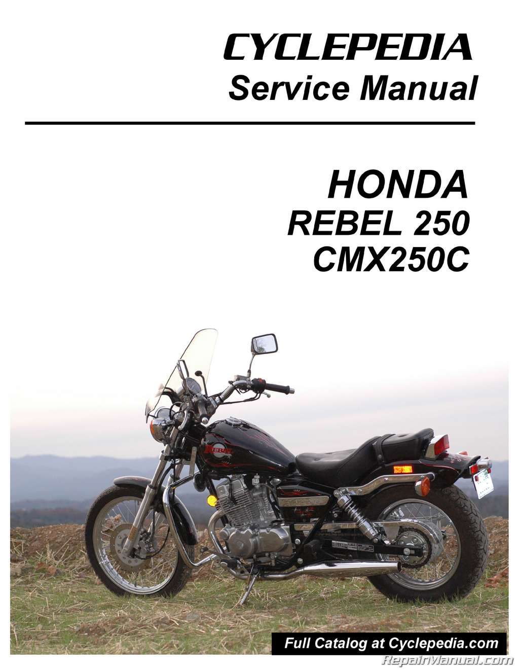 Back Download Honda CMX 250 C picture # 7, size 1024x1325 Next