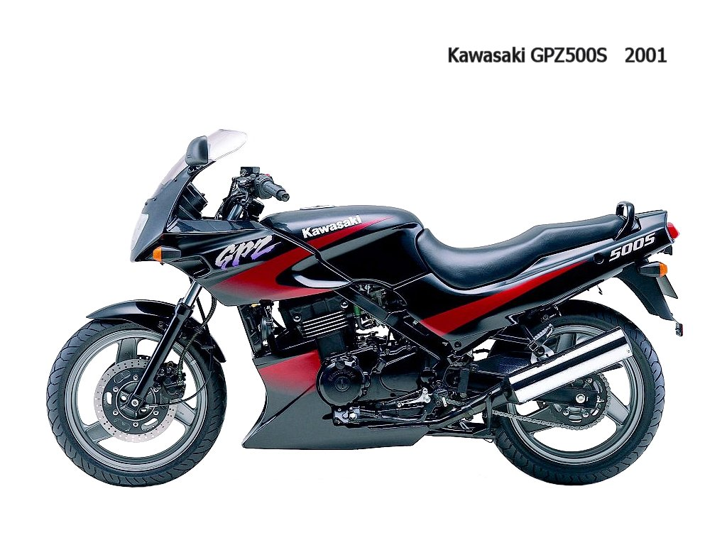 Kawasaki GPZ 500 S (reduced effect) 1987 pics #30913