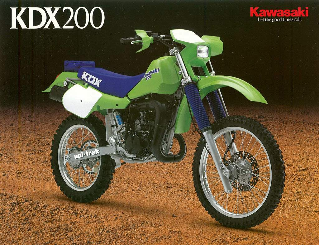 Kawasaki KMX 200 1987 wallpapers #142696