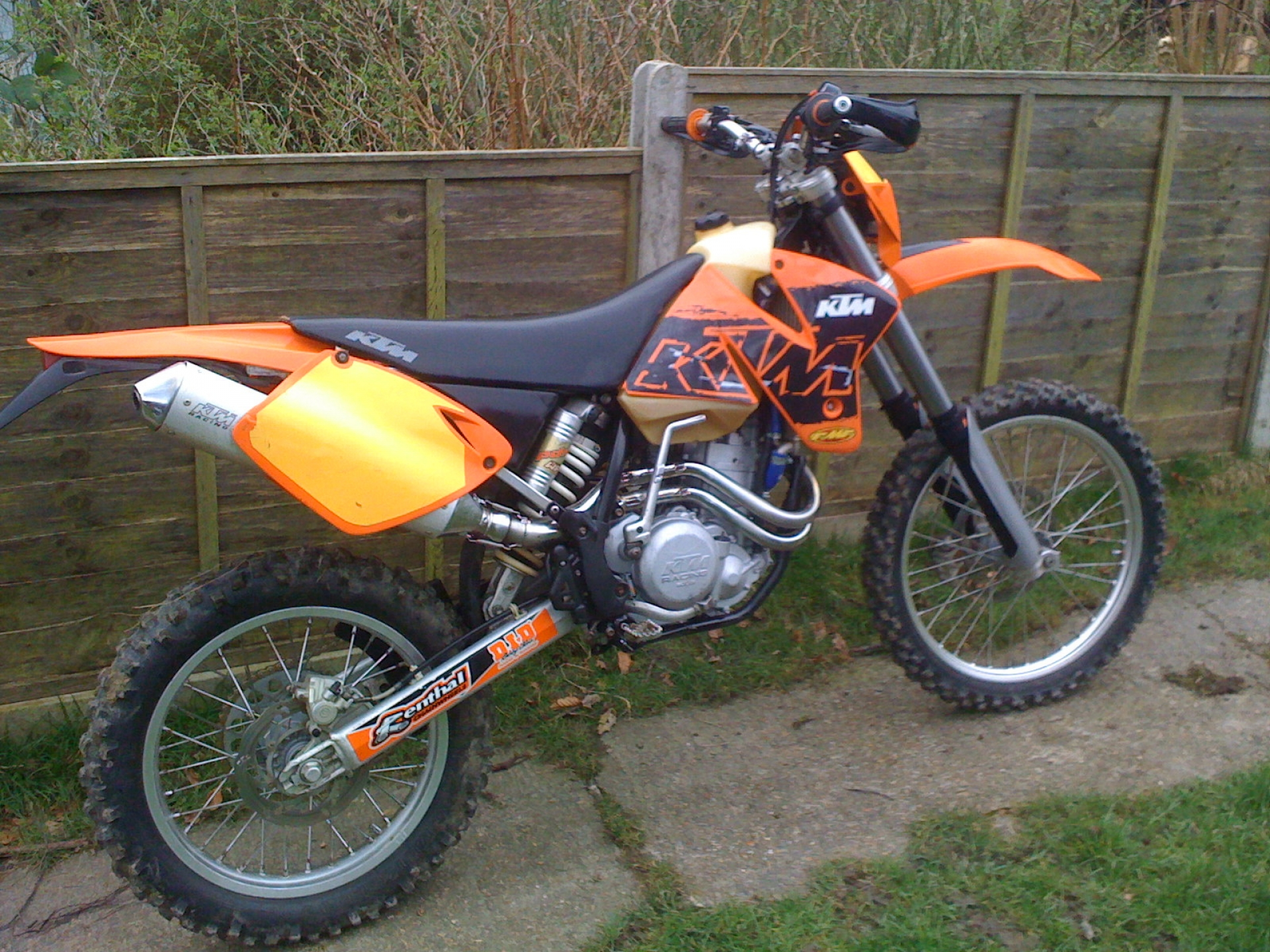 KTM 400 EXC Racing 2005 images #86410