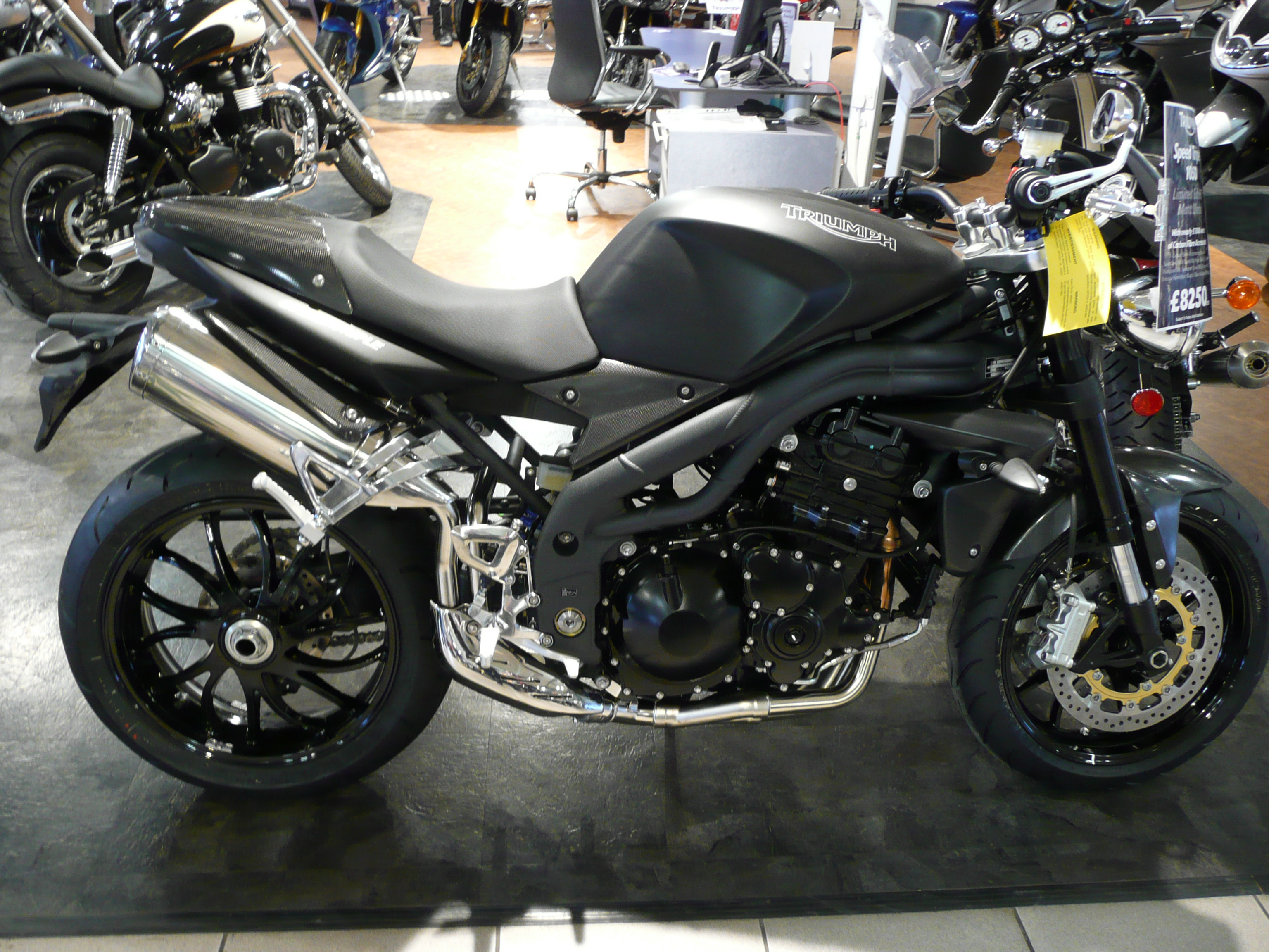 Triumph Speed Triple 955 2003 wallpapers #130005