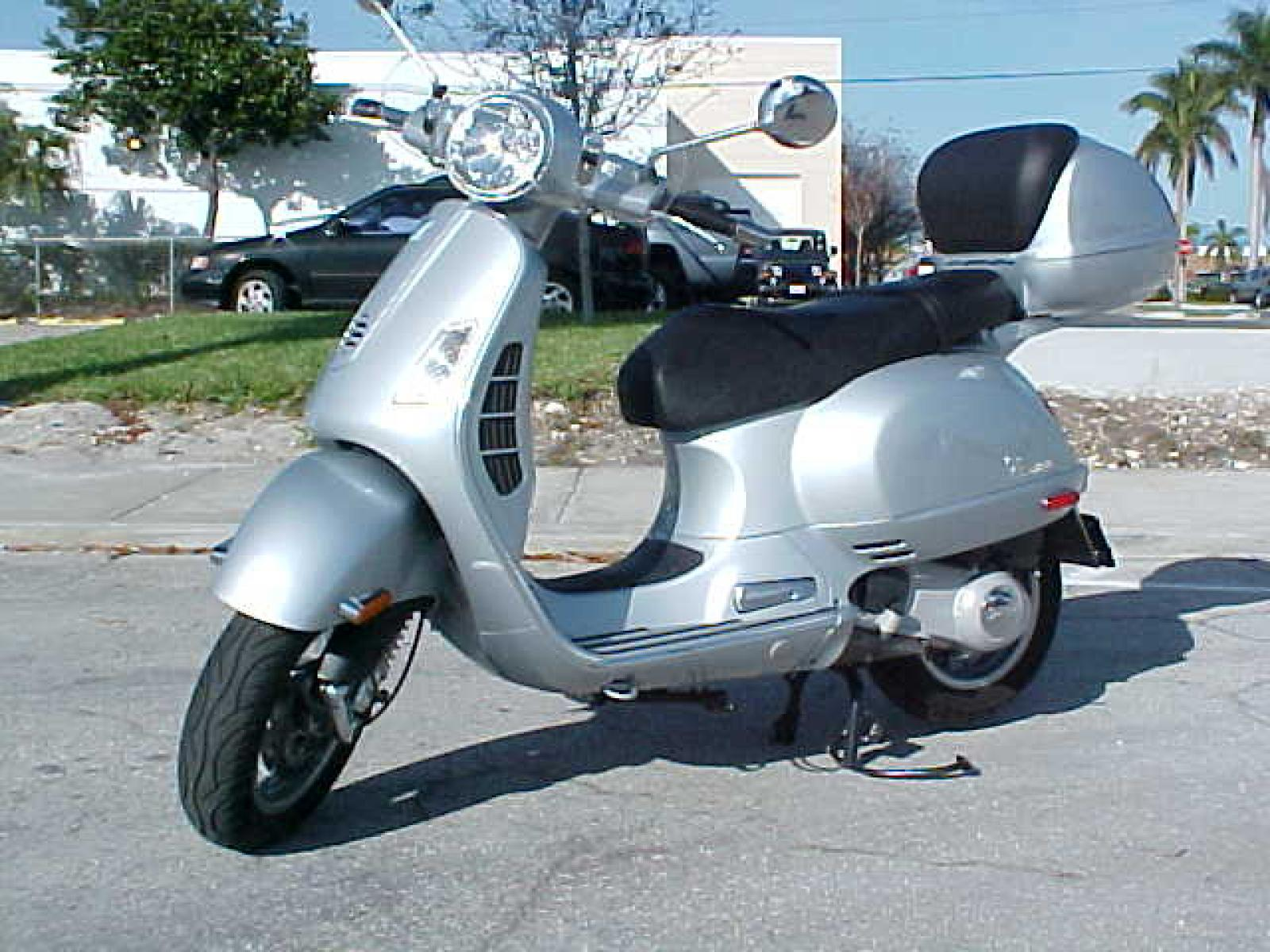 Vespa Granturismo 200 2008 wallpapers #132488