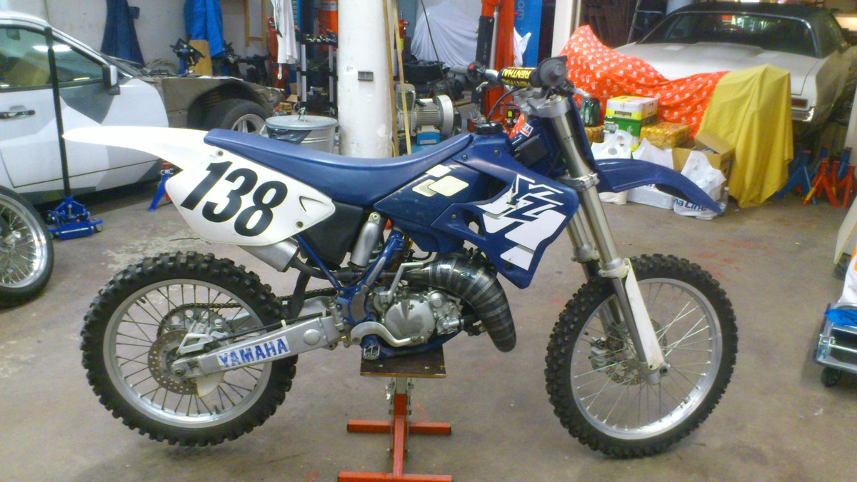 Yamaha YZ 125 1997 wallpapers #136245
