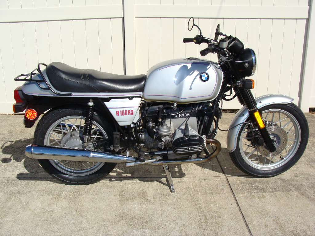 BMW R100RS 1981 images #4624