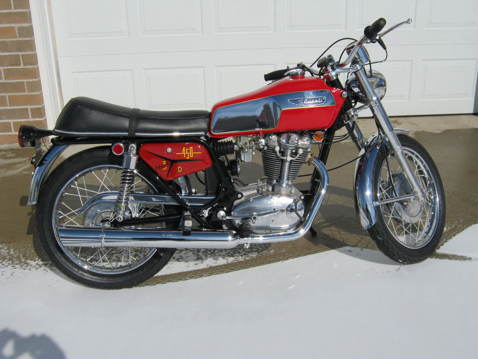 Ducati 350 Mark 3 D images #9973