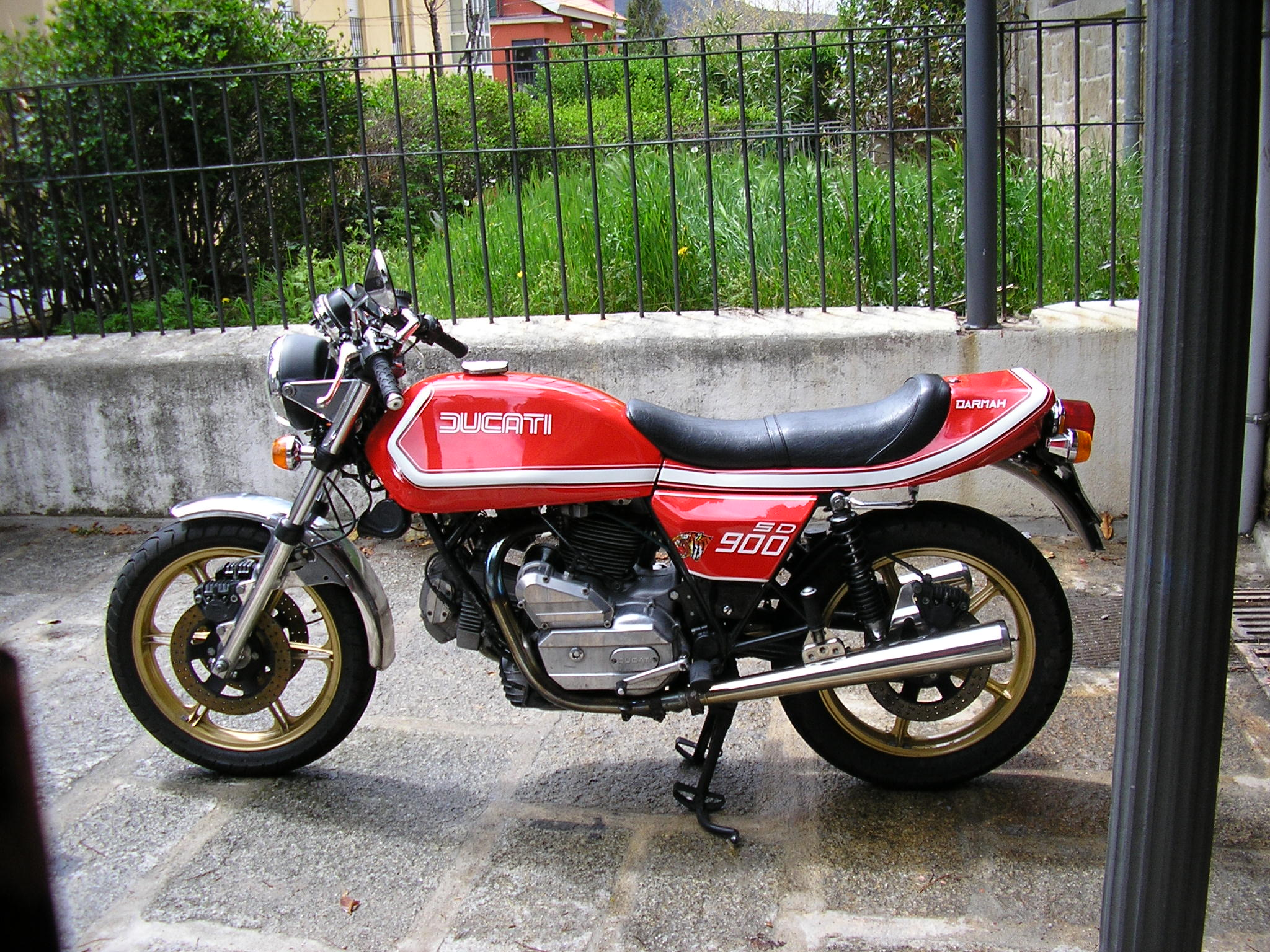 Ducati 900 SD Darmah 1980 wallpapers #154300